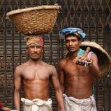 Ouvriers à vieux Dacca Photo libre de droits
