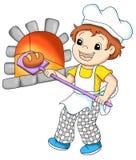 Ouvriers 10, boulangerie Image libre de droits