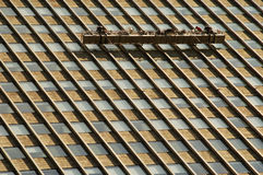 Ouvriers de ciel images libres de droits