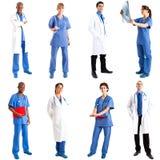 Ouvriers médicaux Image stock