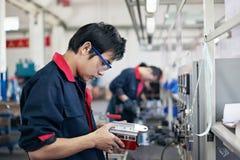 Ouvriers, opérateurs Photo libre de droits