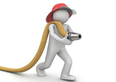 Ouvriers - pompier Photographie stock