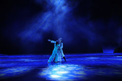 Ouyang g blind -The dance drama The legend of the Condor Heroes Stock Photography
