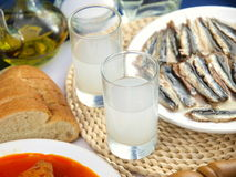 Ouzo Royalty Free Stock Images
