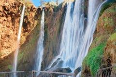 Ouzoud瀑布 摩洛哥 免版税图库摄影