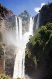 Ouzoud big waterfalls. Wherever of center of morocco Stock Photos