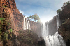 Ouzoud falls Royalty Free Stock Photography