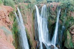 Ouzoud Falls In Morocco Stock Photography