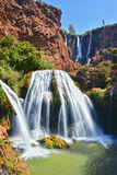 Ouzoud Falls near the Grand Atlas village of Tanaghmeilt Morocco Royalty Free Stock Images