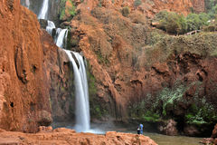 Ouzoud Falls near the Grand Atlas village of Tanaghmeilt Morocco Royalty Free Stock Photography