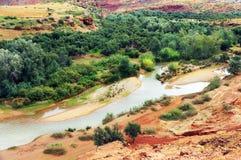 Ouzoud wąwozy, Maroko, Afryka Obrazy Stock