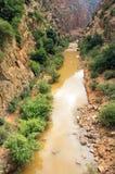 Ouzoud wąwozy, Maroko, Afryka Zdjęcia Stock