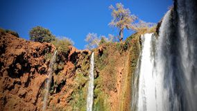Ouzoud Water Falls Royalty Free Stock Photos