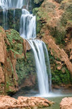 Ouzoud waterfalls in Grand Atlas village of Tanaghmeilt Stock Image