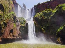 Ouzoud Waterfalls in Morocco Royalty Free Stock Photography