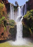 Ouzoud Waterfalls in Morocco Stock Photo