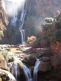 Ouzoud Watterfalls, Marocco Fotografía de archivo libre de regalías