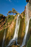 Ouzud waterfall. The Ouzud waterfall at Morocco is one of the most popular site for the people of that coutry to visit Stock Photos