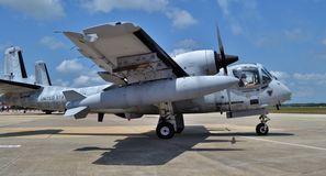 OV-1 Mohawk Attack Plane royalty free stock image
