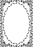 Ovaal stock illustratie