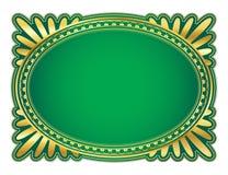 Ovaal frame Royalty-vrije Stock Fotografie