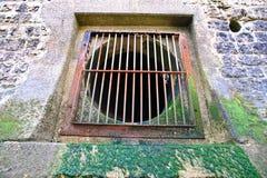 Ovaal venster Stock Afbeelding