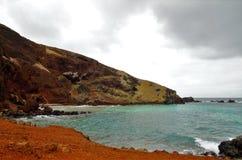 Ovahe plaża Fotografia Stock