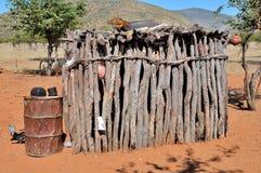 Ovahimba storage room Royalty Free Stock Images