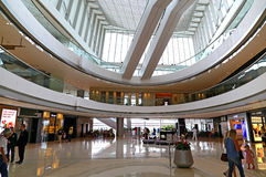 Oval atrium ifc mall hong kong Stock Photos