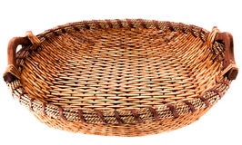 Oval basket Stock Images