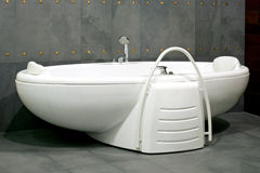 Oval Bathtub Royalty Free Stock Images