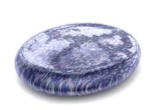 Oval Blue hard sweet candy Royalty Free Stock Photos
