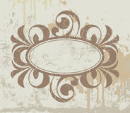 Oval border background Royalty Free Stock Photo