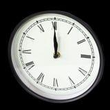 Oval clock Royalty Free Stock Photos