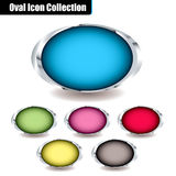 Oval Collection Stock Photo