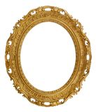 Oval Decorative Picture Frame Royalty Free Stock Image