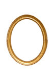 Oval decorative picture frame Stock Photos