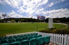 Oval do grilo de Donald Bradman em Bowral NSW Austrália imagem de stock royalty free
