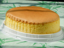 Oval egg cake Stock Photo
