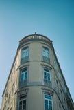 Oval fasad Arkivbild