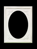 Oval frame Stock Image
