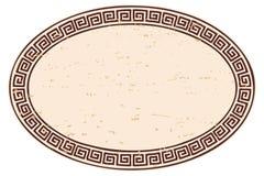 Ancient Greek frame. Royalty Free Stock Photo