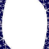 Oval frame for celebration cards Royalty Free Stock Photos