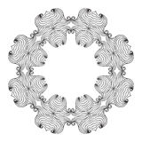 Oval Frame mandala Royalty Free Stock Images