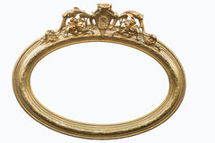 Oval frame Royalty Free Stock Image