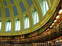 Oval library Stock Images