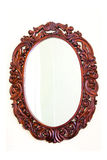Oval mirror Royalty Free Stock Photos
