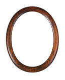 Oval photo-frame Royalty Free Stock Images
