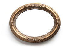 Oval photo frame Royalty Free Stock Photo