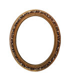 Oval picture frame Stock Images